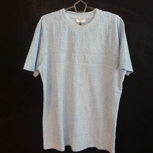Dior Blue T-Shirt Short Sleeve